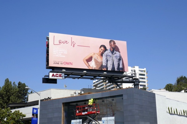 Love Is TV series billboard