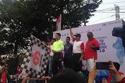Camat Tambora Dampingi Walikota Jakbar Buka Tambora Run 5K