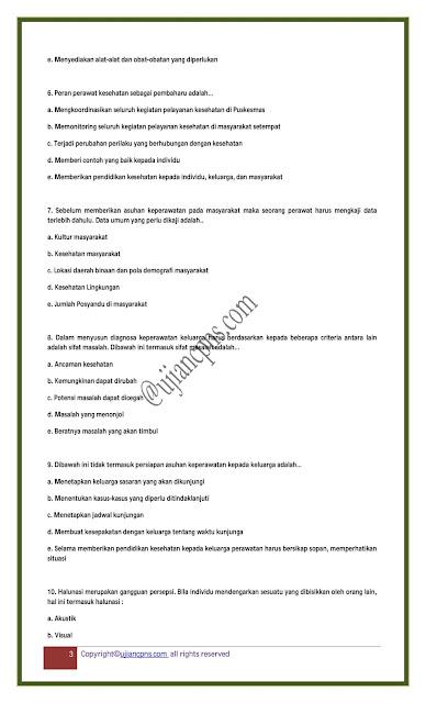 Soal SKB Kesehatan CPNS 2021