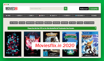 Moviesflix.in- 300MB 720p 480p Movies Download Moviesflix.in