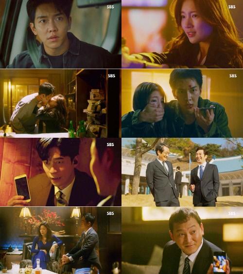 SBS 'Vagabond' by Lee Seunggi and Bae Suzy achieved their