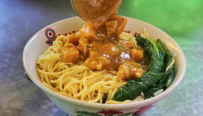 Resep Mie Ayam Bakar Keju Special