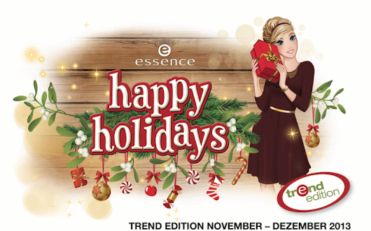 "{Preview} essence trend edition ""happy holidays"""
