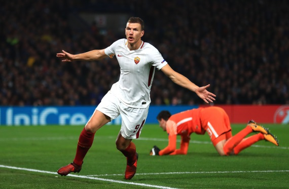 Chelsea bound Dzeko netted a brace against Chelsea in a thrilling 3-3 draw in October's UEFA Champions League tie at Stamford Bridge