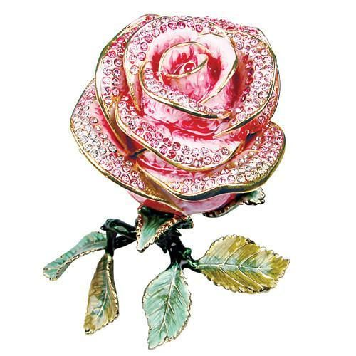 Rose Trinket Jewelry Box