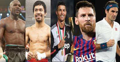 5 Atlet Terkaya di Dunia