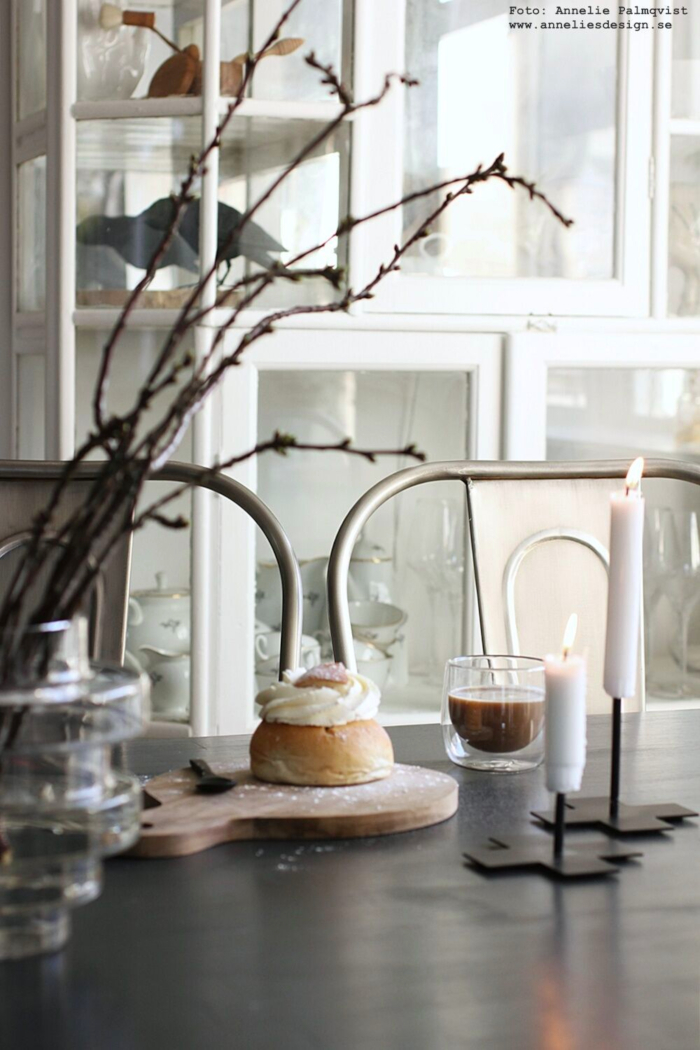 anneliles design, webbtuik,webbutiker, webshop, nätbutik, inredning, kaffe, semla, mugg, dubbla, glas, vas, vako, smaelta, dekroation, kvistar, ljusstake, ljusstakar, candle cross,
