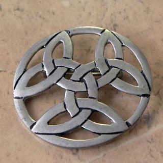 Celtic brooch by SJC