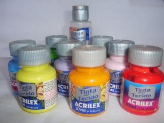 tinta para pintura em tecido