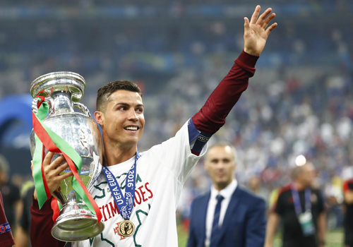 """Ronaldo: """"Tôi chờ chức vô địch này lâu lắm rồi"""""""