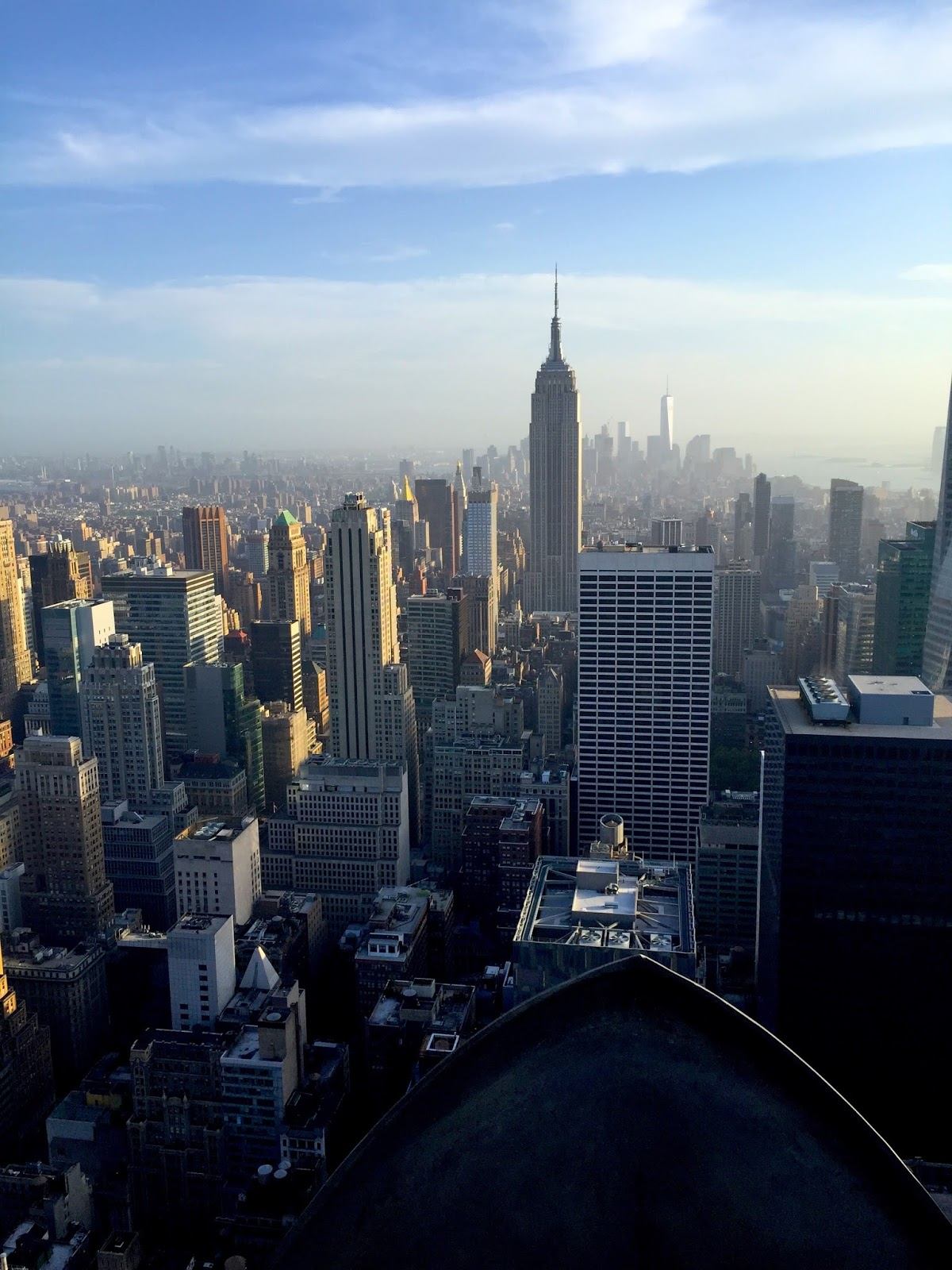 NYC travel guide new york city top of the rock view