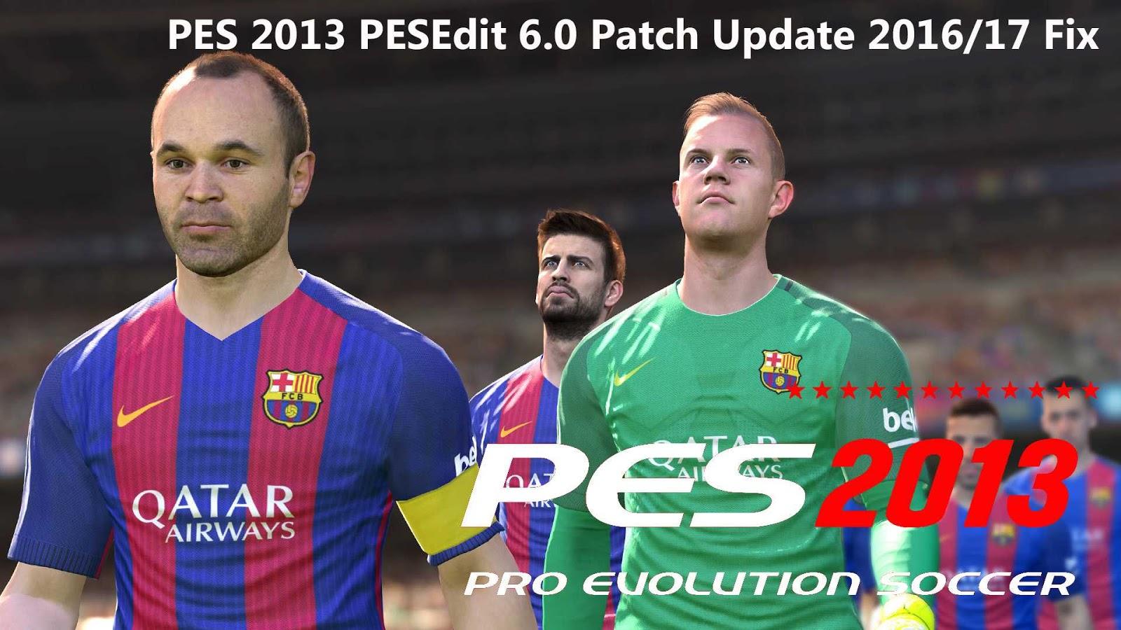 PESedit Patch 6.0 + Cara Install(Pro Evolution Soccer 2013 ...