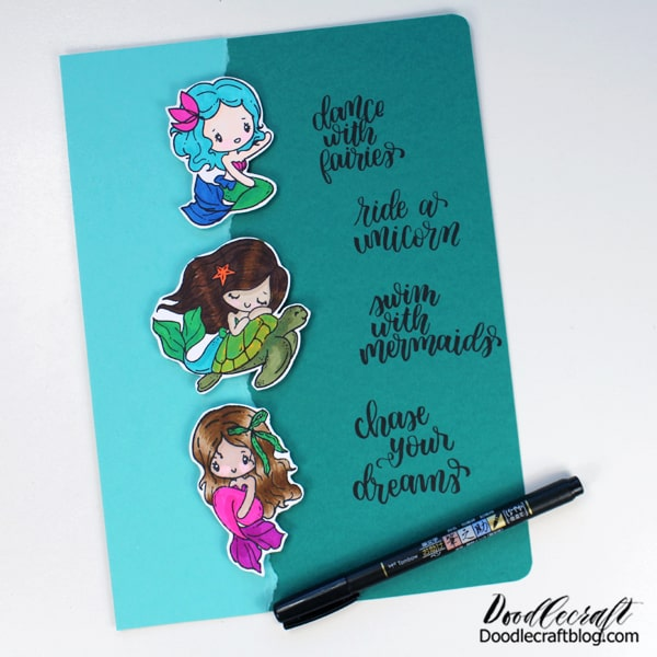 Dance with Fairies, Ride a Unicorn, Swim with Mermaids and Chase your Dreams! This notebook will be perfect for filling with to-do lists and goals.