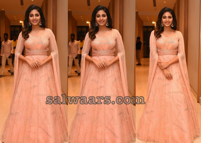 Anjali in Peach Color Salwar