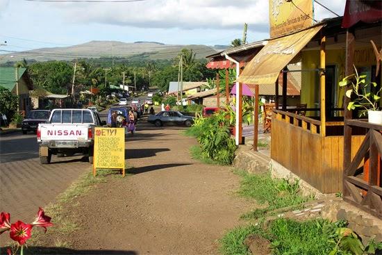 hanga roa capital ilha de pascoa