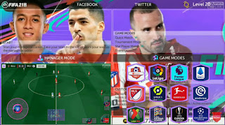 Download FTS Mod FIFA 21 Android V5 Spesial Shopee Liga 1 Indonesia & New Update Kits Transfer 2020/2021