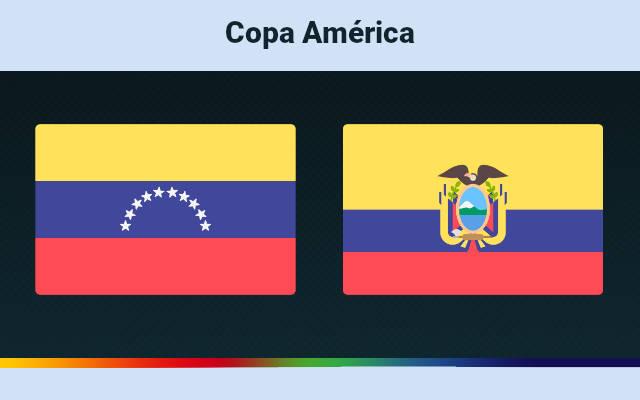 Venezuela vs Ecuador Live Copa 2021: Prediction and Match Preview