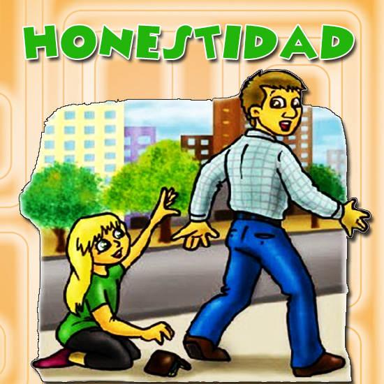 LOS VALORES: HONESTIDAD