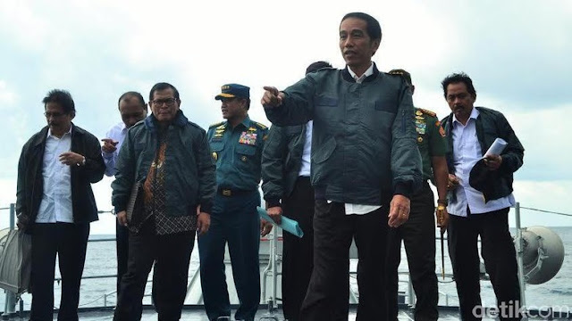 Jokowi Ingin Nelayan di Jawa Melaut ke Perairan Natuna