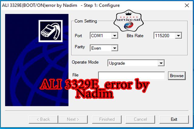ALI 3329E_error by Nadim