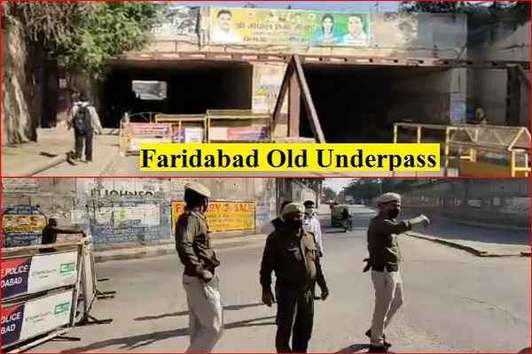why-faridabad-old-railway-underpass-closed-for-5-days