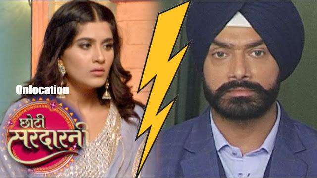 Divorce : Sarabjit throws divorce papers Meher in despair in Choti Sardarni