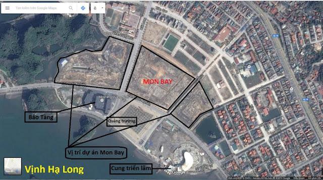 Vị trí vàng của dự án Mon Bay Hạ Long