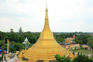 Burmese Temple Buddhist tourism