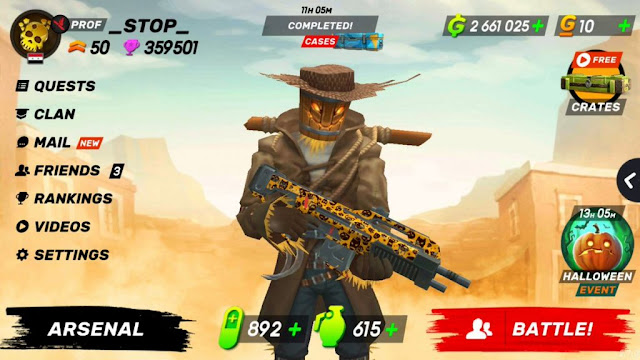 Guns Of Boom Unlimited Money Apk