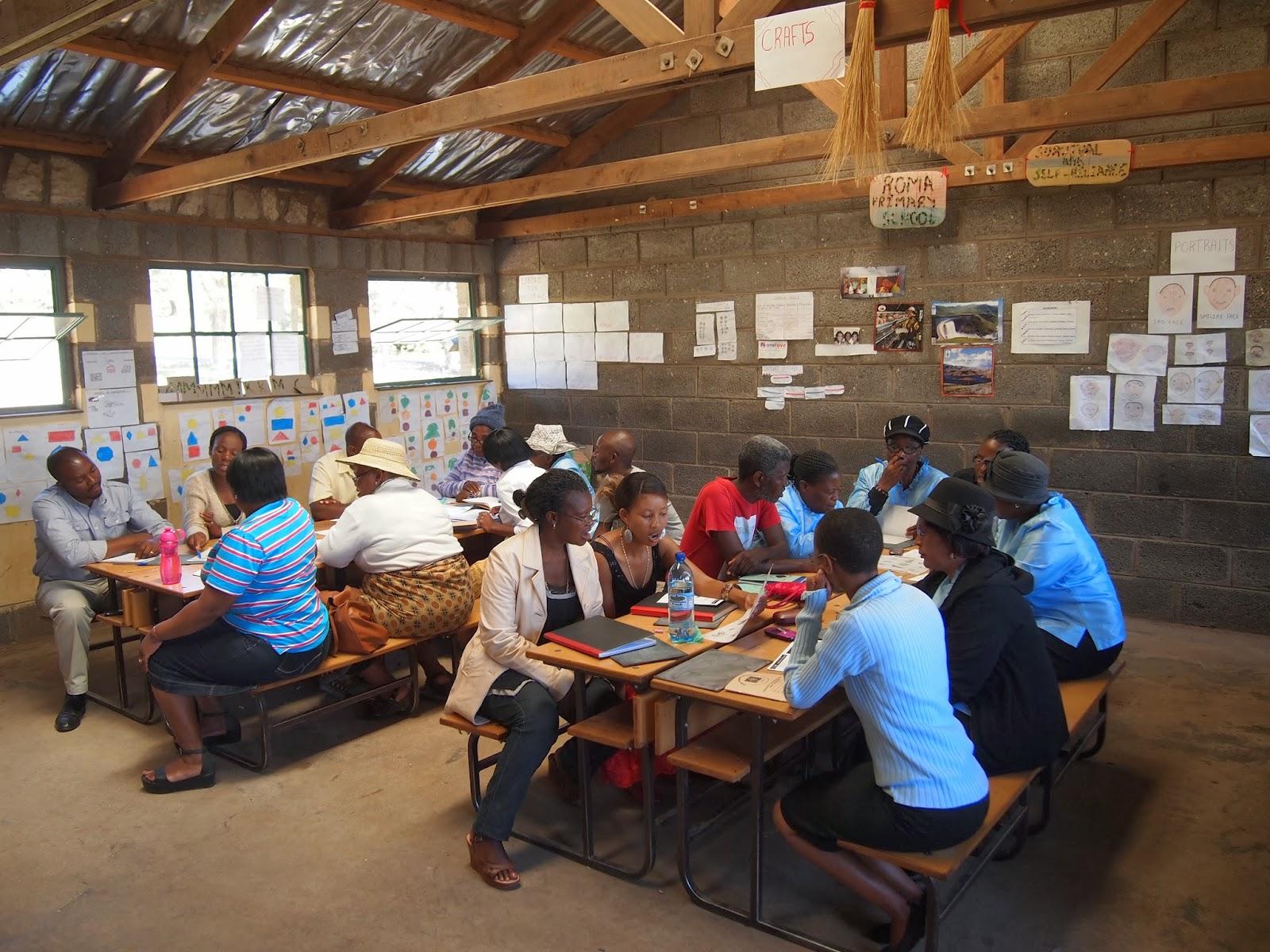 Kinder Garden: School Linking Blog: Roma Primary School Visit