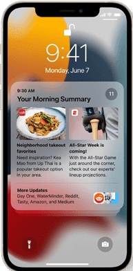 Apple iOS 15 New Notification Features
