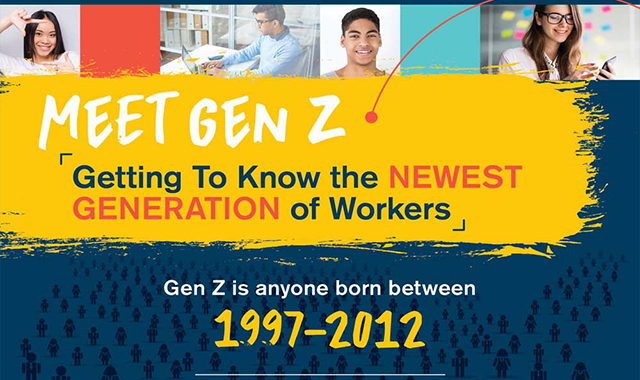 Leading Gen Z In The Workplace #infographic