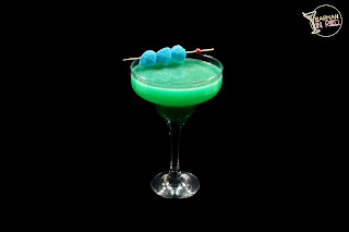 cocteles con vodka Esmeralda Azul