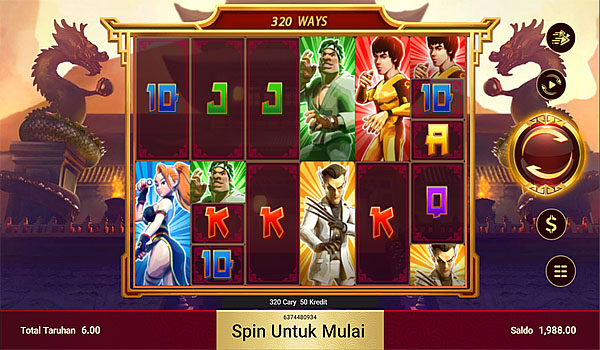 Main Gratis Slot Indonesia - Kungfu Dragon Maxways Spadegaming
