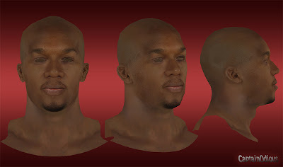 NBA 2K13 David West Cyberface Mod