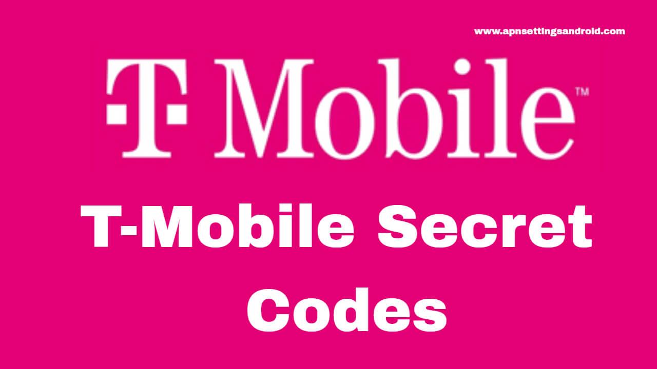 T-Mobile Secret Codes