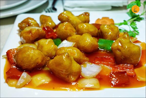 Pollo a la naranja (10.80€) Restaurante el Bund Madrid Arturo Soria