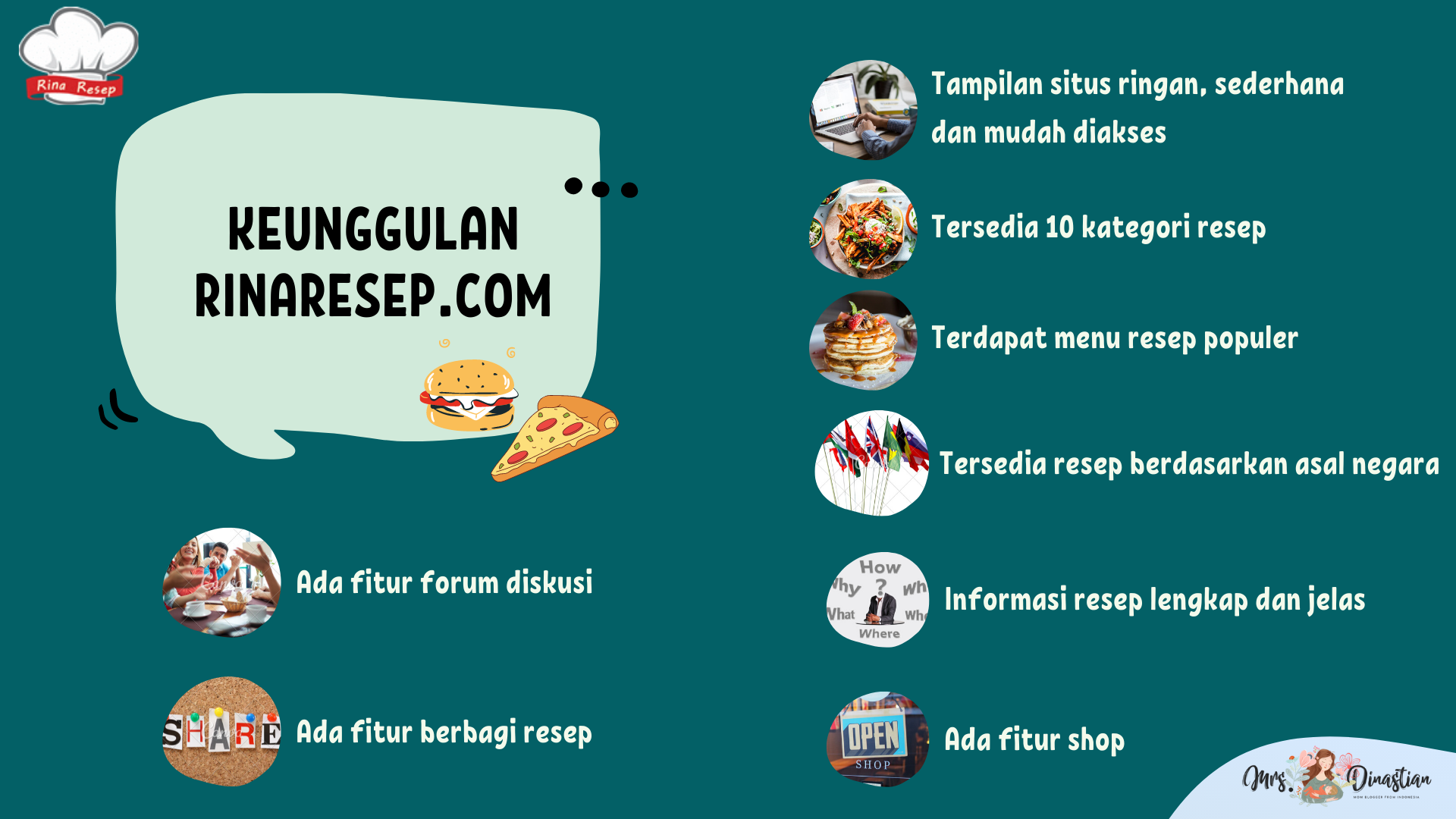 Keunggulan Resep Masakan Rinaresep.com