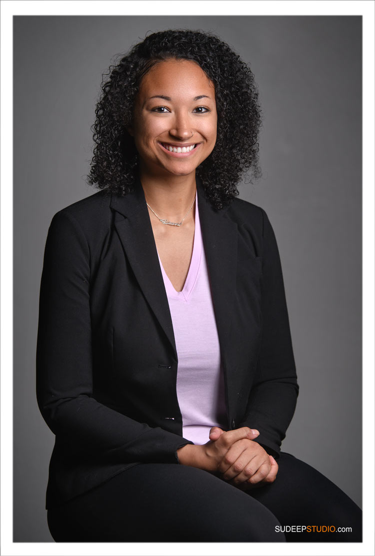 Professional Portraits for African American Non-Profit Social Worker by SudeepStudio.com Ann Arbor Headshot Photographer