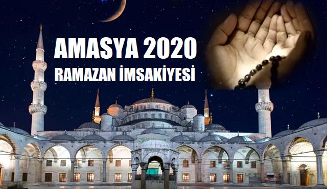 Amasya 2020 Ramazan İmsakiyesi, İftar, İmsak ve Sahur Saatleri