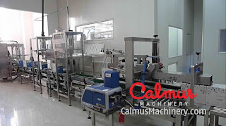 Fully-automatic Filling and Packaging Line for Bag-in-Box Spring Water