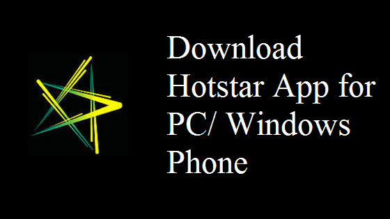 Download-HotStar-App-For-PC