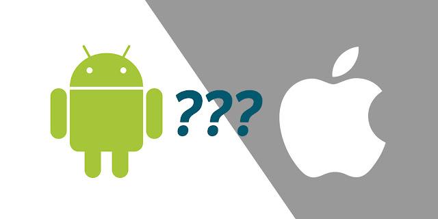 tukar android daripada ios