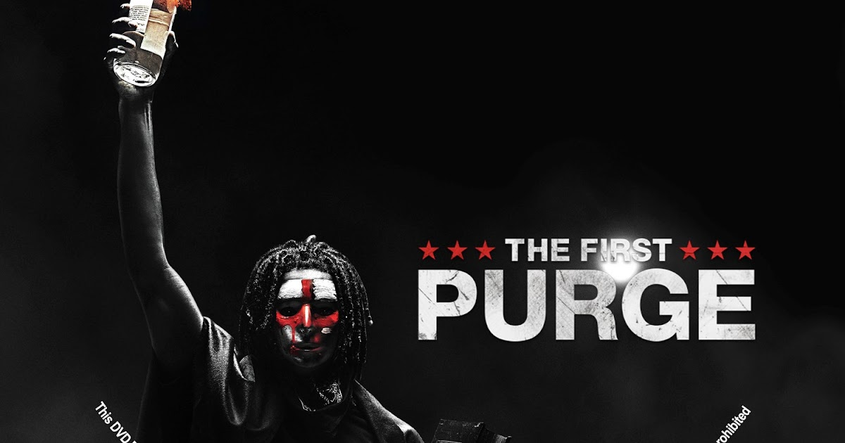 The First Purge 2018 Movie Wallpapers: The First Purge DVD Label