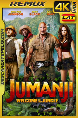 Jumanji: Bienvenidos a la jungla (2017) 4K BDRemux HDR Latino – Ingles