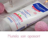 Lait et crème hydratants apaisants de Mustela