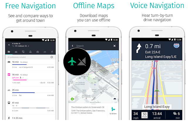 Alternativa a Google Maps