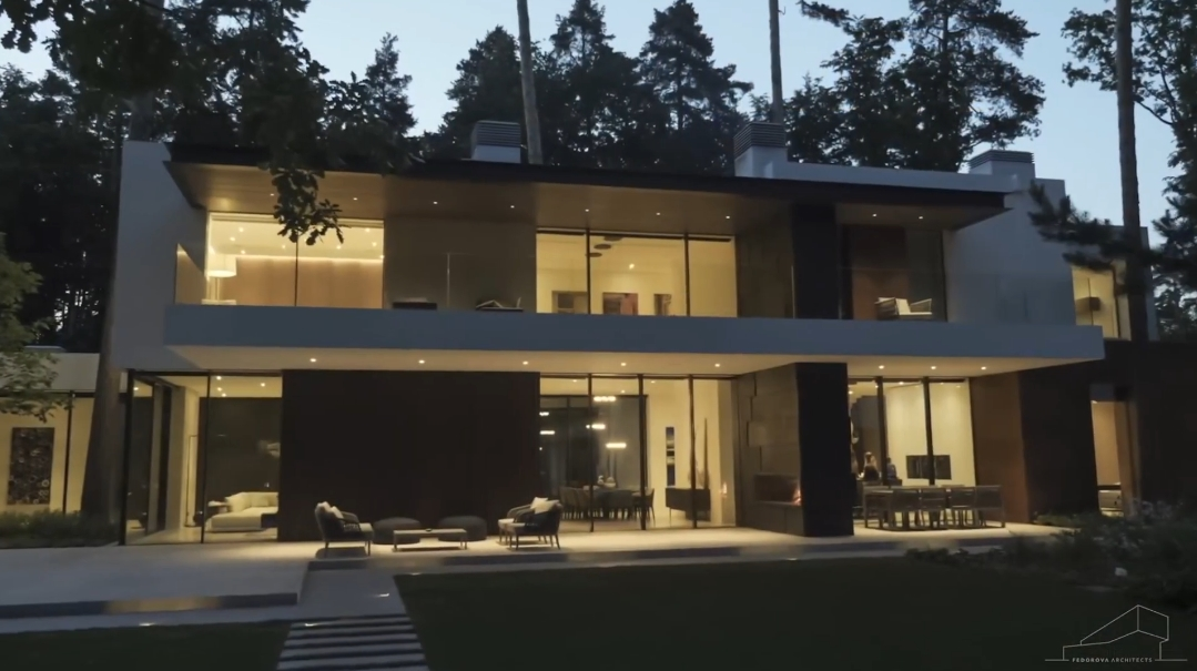 32 Interior Design Photos vs. Villa Zhukovka Russia By Fedorova Tour