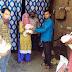 भोजन जन सेवा समिति ने 33 परिवारों को पहुंचायी राशन सामग्री