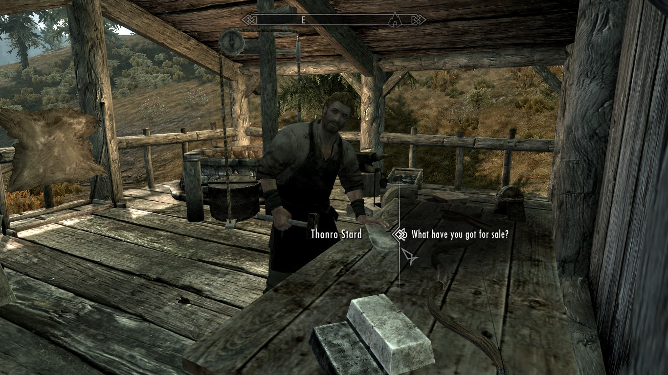 blacksmith forge skyrim - photo #10